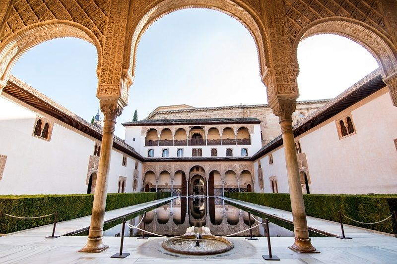 Palacios nazar es el conjunto palacial de la alhambra de - Banos arabes palacio de comares ...